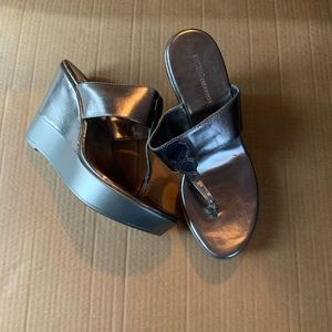 BCBGeneration wedge sandals NWT Size 8
